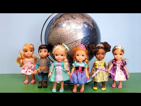 Kids Science Museum ! Elsa And Anna Toddlers - Field Trip - Barbie