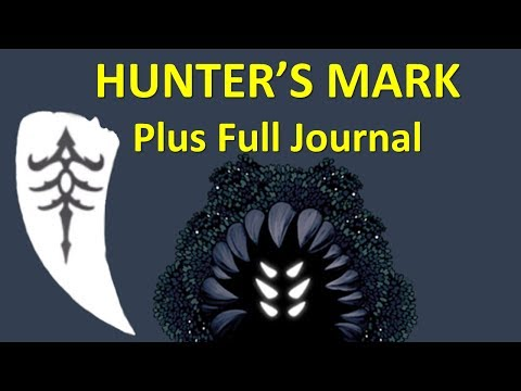 HOLLOW KNIGHT - Hunter's Mark and Full Journal