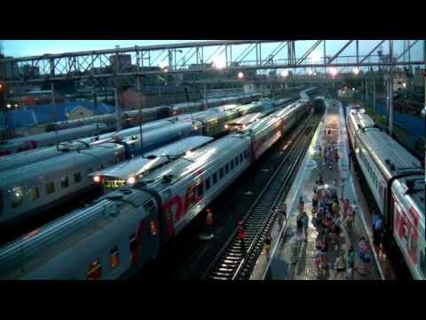 Прибытие ЭП1М-665 с поездом №317 Новороссийск — Саратов