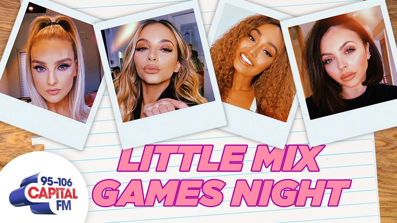 Games Night w/ Little Mix | Capital