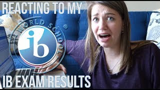 IB RESULTS REACTION! | Claire Margaret Corlett