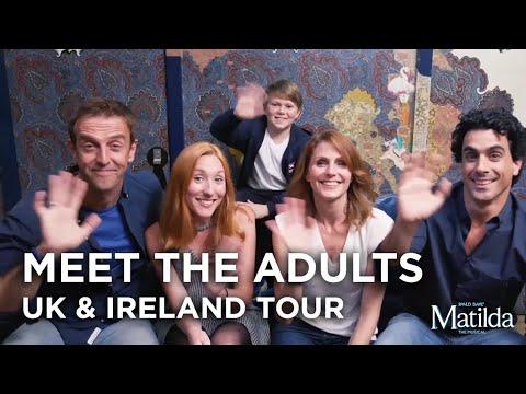 Meet The Adults | Matilda The Musical UK & Ireland Tour
