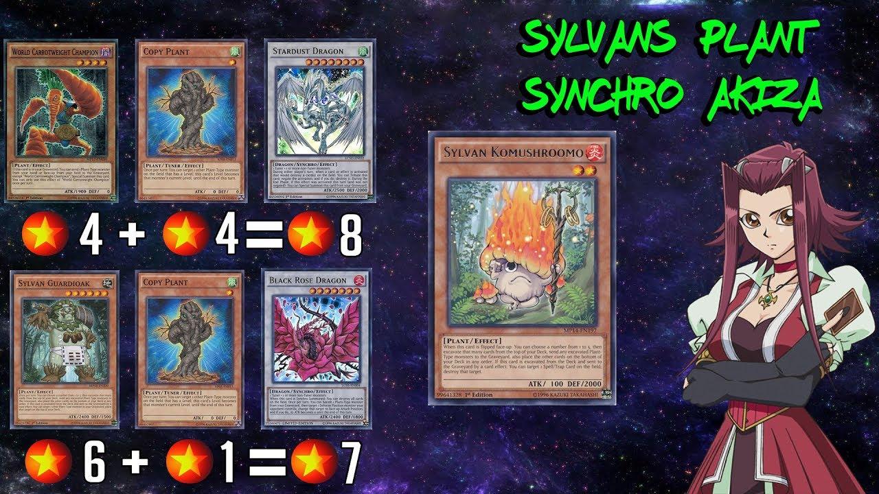 Sylvans Plant Synchro Black Rose Flare Yu Gi Oh Duel Links