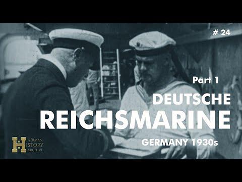 """Germany 1920s ▶ Deutsche Reichsmarine """"Unsere Blauen Jungs"""" (1) Battle Ship """"Emden"""""""