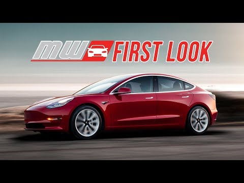 2018 Tesla Model 3   First Drive
