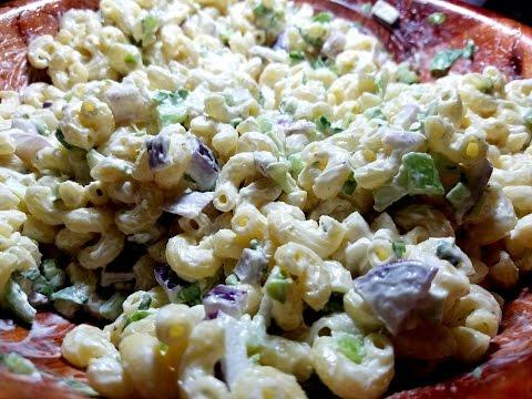 Trinidad Macaroni Salad | Taste of Trini