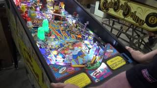#592 Stern SIMPSONS PINBALL PARTY Pinball Machine from Private Home! TNT Amusements