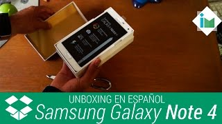 Unboxing - Samsung Galaxy Note 4