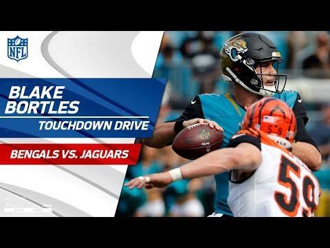 Blake Bortles Puts Together a Huge TD Drive vs. Cincinnati! | Bengals vs. Jags | NFL Wk 9 Highlights