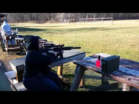 Stephanie at the range. (Corrected)
