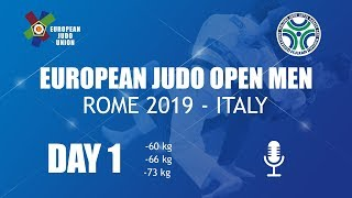 European Judo Open men 2019 Rome
