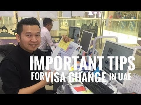 IMPORTANT TIPS FOR VISA CHANGE IN UAE (via FB Live)