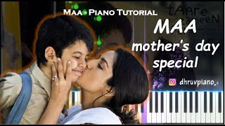 ♫ MAA - Mother's Day Special || 🎹 Piano Tutorial + Sheet Music (with English Notes) + MIDI