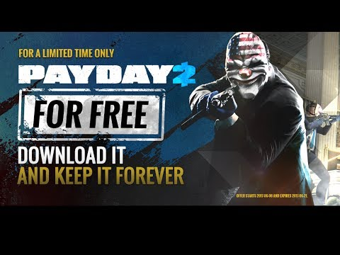 Payday 2 Gameplay Live - Payday 2 Free On Steam - Come Join The Noob Squad