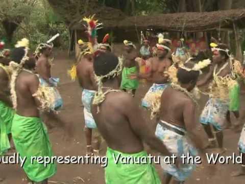 World Expo Shangai 2010 Vanuatu Dancers from Tanna island
