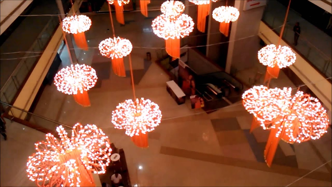 Diwali Decorations at Phoenix MallLucknow YouTube