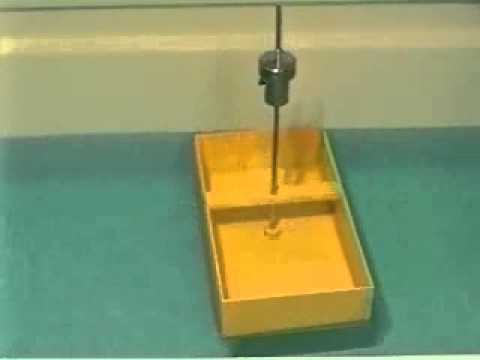 Stability of a Model Barge