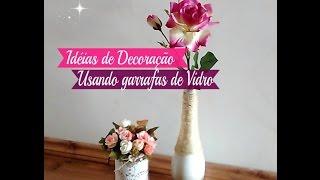 DO LIXO AO LUXO: POTES DE VIDRO DECORADOS