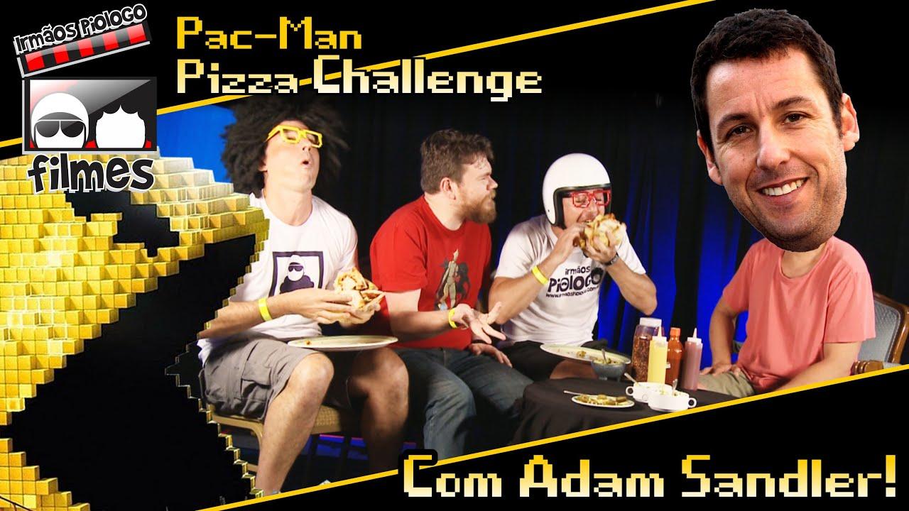 Pac-Man Pizza Challeng... Adam Sandler Youtube
