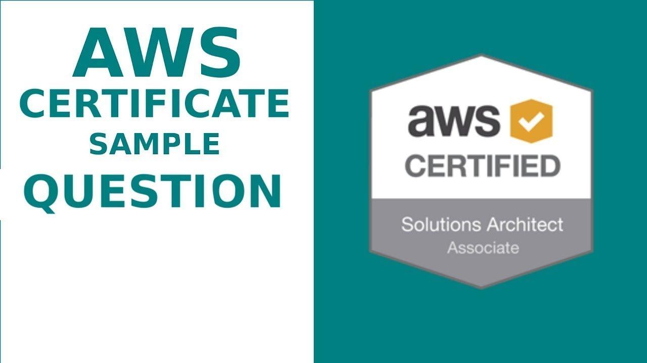 #4 AWS Solution Architect Associate Practice Questions   2018 AWS Solutions  Architect Associate  