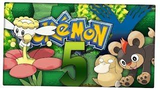 Let's Play Pokemon X Part 5: Schöne Blumenfelder auf dem Parterre-Weg