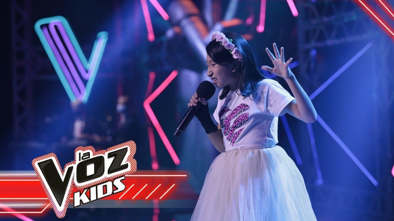 Julieta canta 'Dance Monkey' | La Voz Kids Colombia 2021