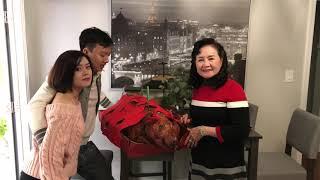 Thanh Trieu - NGƯỜI VIỆT ĂN TÂN GIA NHÀ Ở MỸ RA SAO - Video 4k