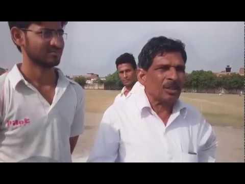 Unnao cricket stadium ki kholi pool..