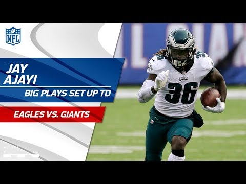 Big Plays by Jay Ajayi Set Up  philadelphia eagles