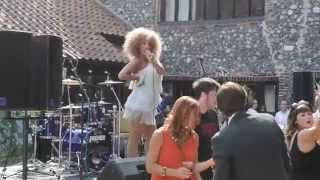 Repeat youtube video Victoria Goddard - Soul & Motown Singer -  'Shake A Tail Feather' Live