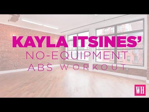 Women's Health Kayla Itsines Abs Workout