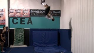 Twist jumps into space at Cheer Extreme Holden Ray Apple Graceffa Erica Englebert Taylor Minchew