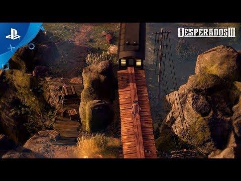 Desperados Iii John Cooper Trailer Ps4 Youtube