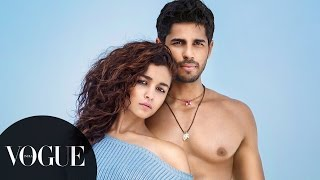 Alia Bhatt vs Sidharth Malhotra: The Battle of the BFFs | Photoshoot Behind-the-Scenes | VOGUE India