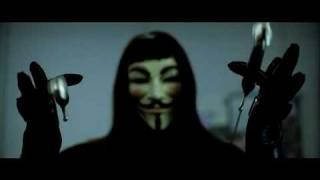 """V значит вендетта"" V for Vendetta"