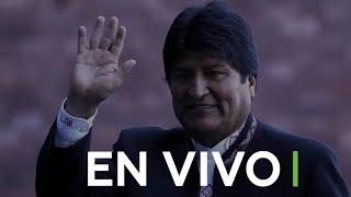 Evo Morales llega a Moscú