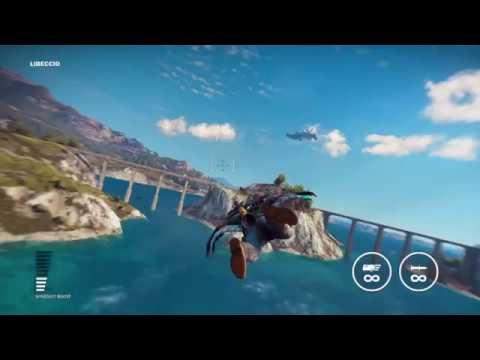 Just Cause 3 DLC - Gameplay - Hanging Boats & Rocket Cows /Jet Pack