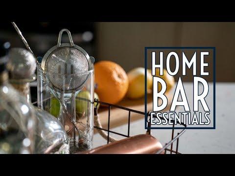 Home Bar Essentials    Gent's Lounge 2019