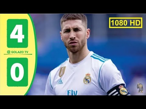 Real Madrid Vs Eibar 4 0 All Goals Extended Highlights 2019
