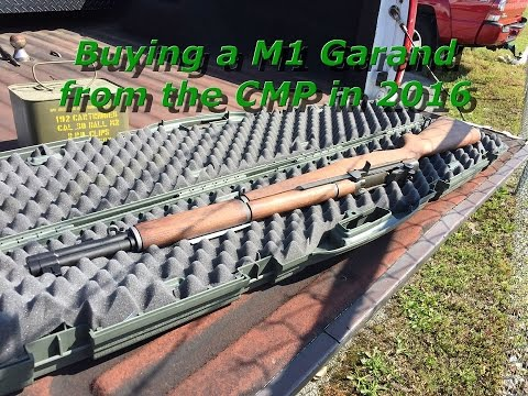 Buying a M1 Garand from the CMP in 2016