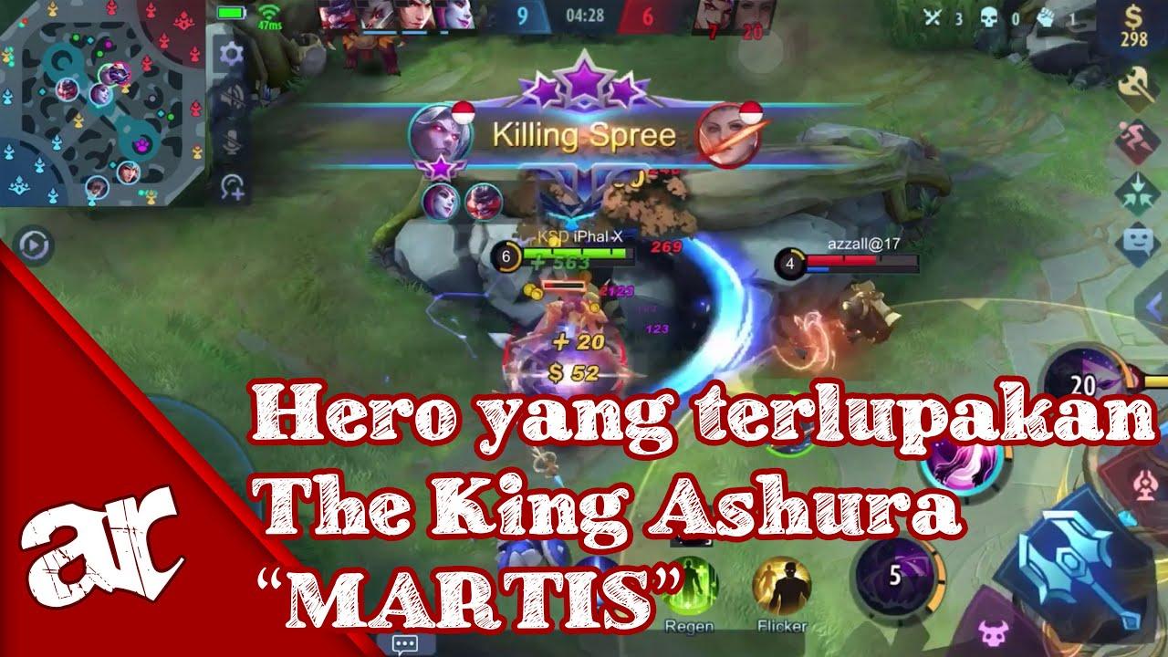 HERO YANG TERLUPAKAN | MARTIS MASIH LAYAK UNTUK RANK ...???? | MARTIS ROAD TO MYTHIC