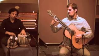 Dil Dil Pakistan: Simon Thacker guitar, Sarvar Sabri tabla, instrumental