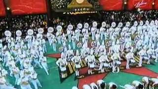 Marching Yellow Jackets in Macy's Parade 2008