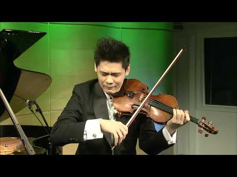 Vitali Chaconne | Angelo Xiang Yu At Avery Fisher Career Grant Announcement Performance