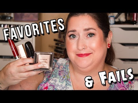 BEAUTY FAVORITES & FAILS | Lots of Drugstore Makeup! August 2019