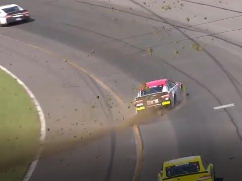 2018 Gander Outdoors 400 - Bubba Wallace Vicious Crash - Call by MRN