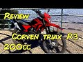 MotoVlog Argentino en Corven Triax 200-Temp 1 Ep 10-Review y opinión de Corven Triax 200 R3