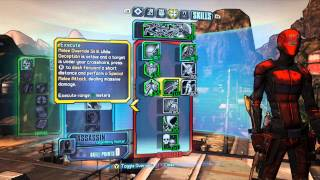Borderlands 2 - Bloodshed Zer0 Build - Melee Assassin Epicness!