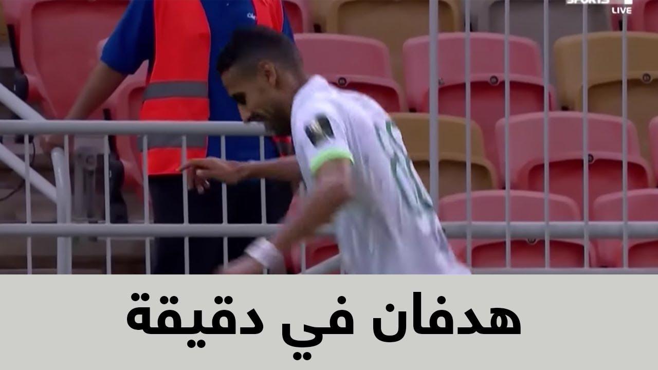 مؤمن زكريا يسجل هدفين لأهلي جدة في أول مباراة رسمية أمام العروبة