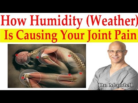 How Humidity (Weather) is Causing Your Joints to Ache - Dr Alan Mandell, DC